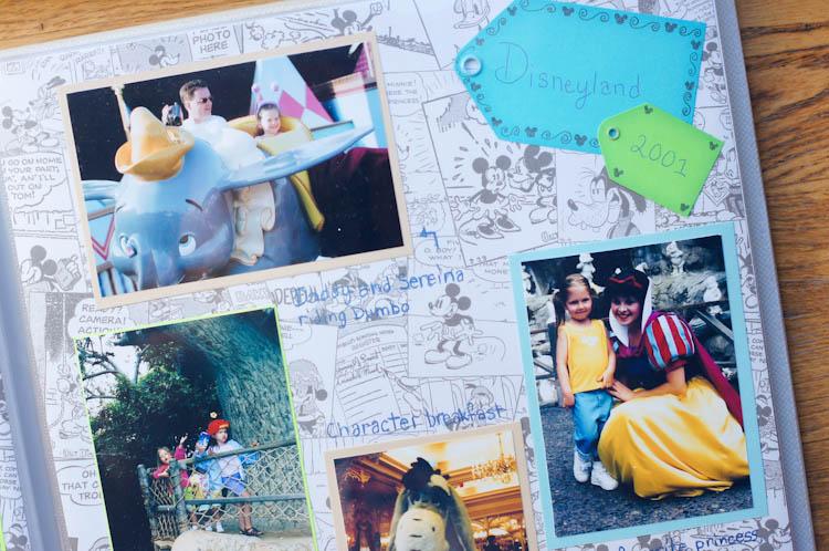 Disneyland Scrapbook | Ribbons Down My Back