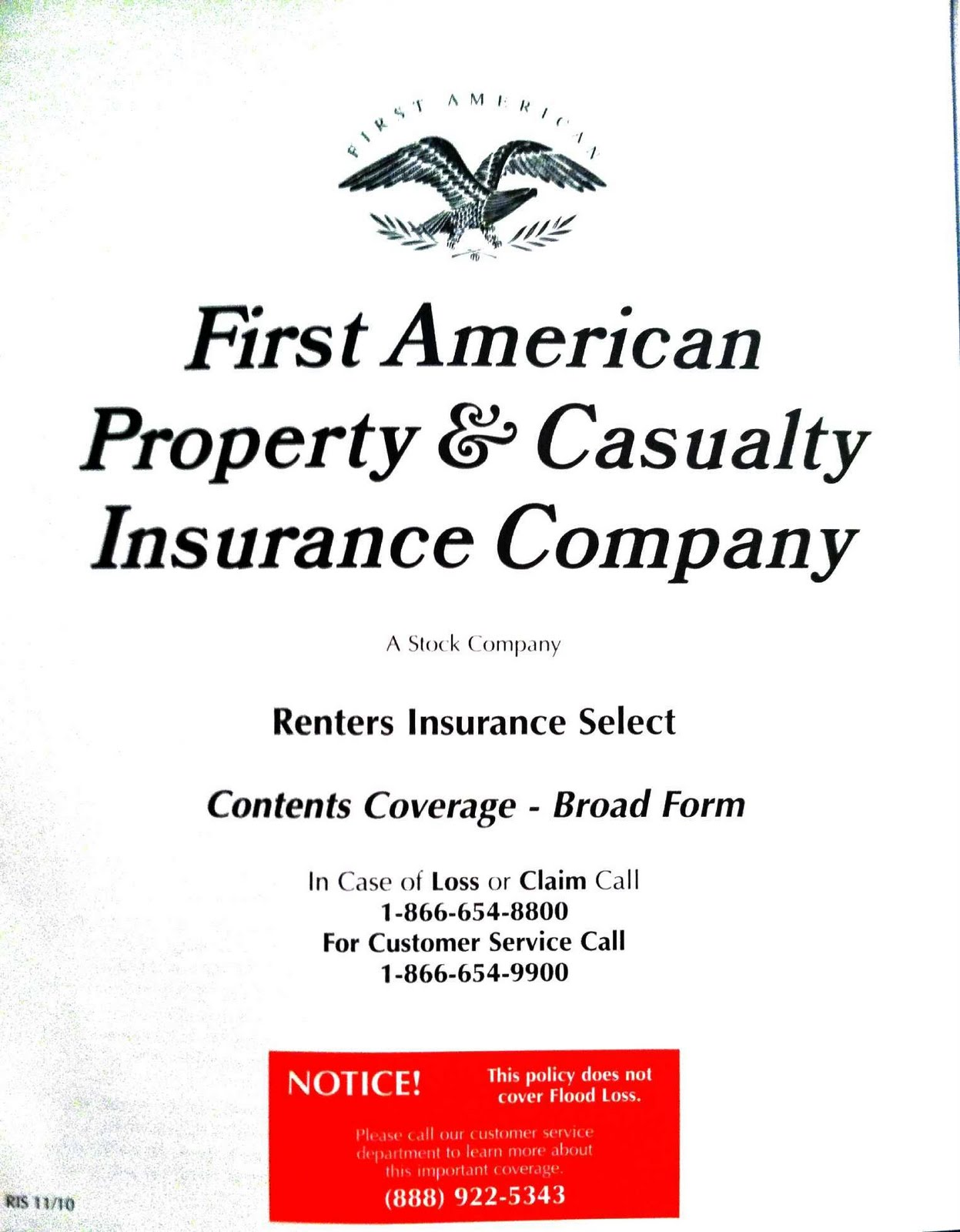 First American Property Renters Insurance