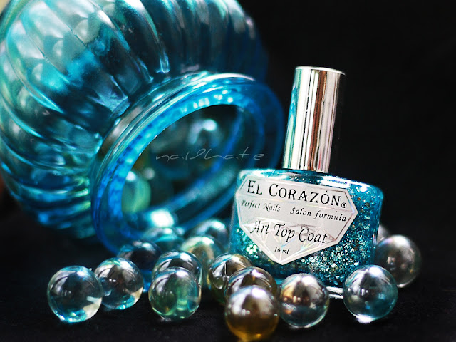 El Corazon Art Top Coat #421/15 Cinderella`s first ball