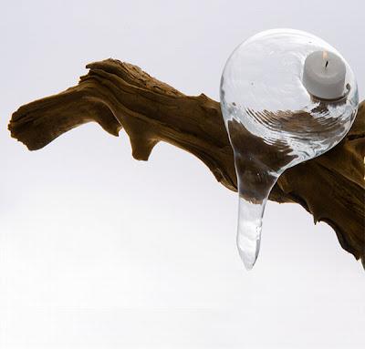Arte con vidrio contemporáneo para decoraciones
