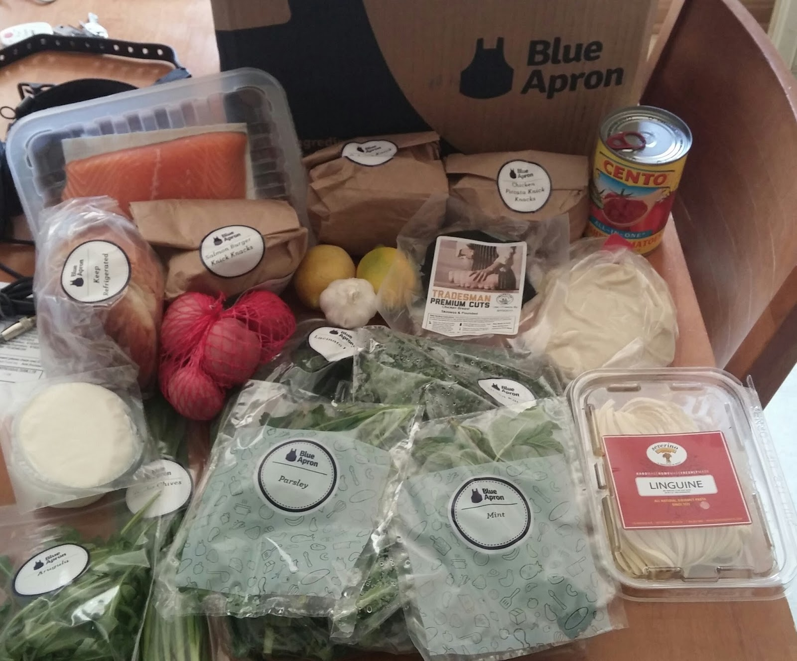 Blue apron free week