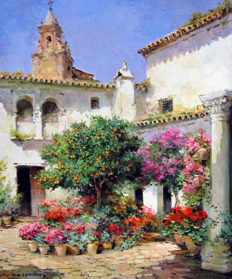 Pintura moderna y fotograf a art stica pintores de leo - Paisajistas en madrid ...