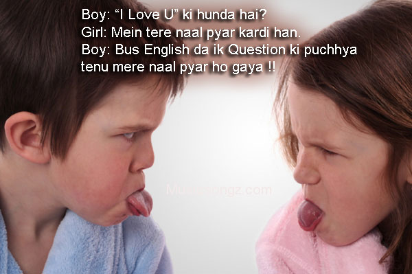 Funny Boy And Girl Baby bogel funny pic...