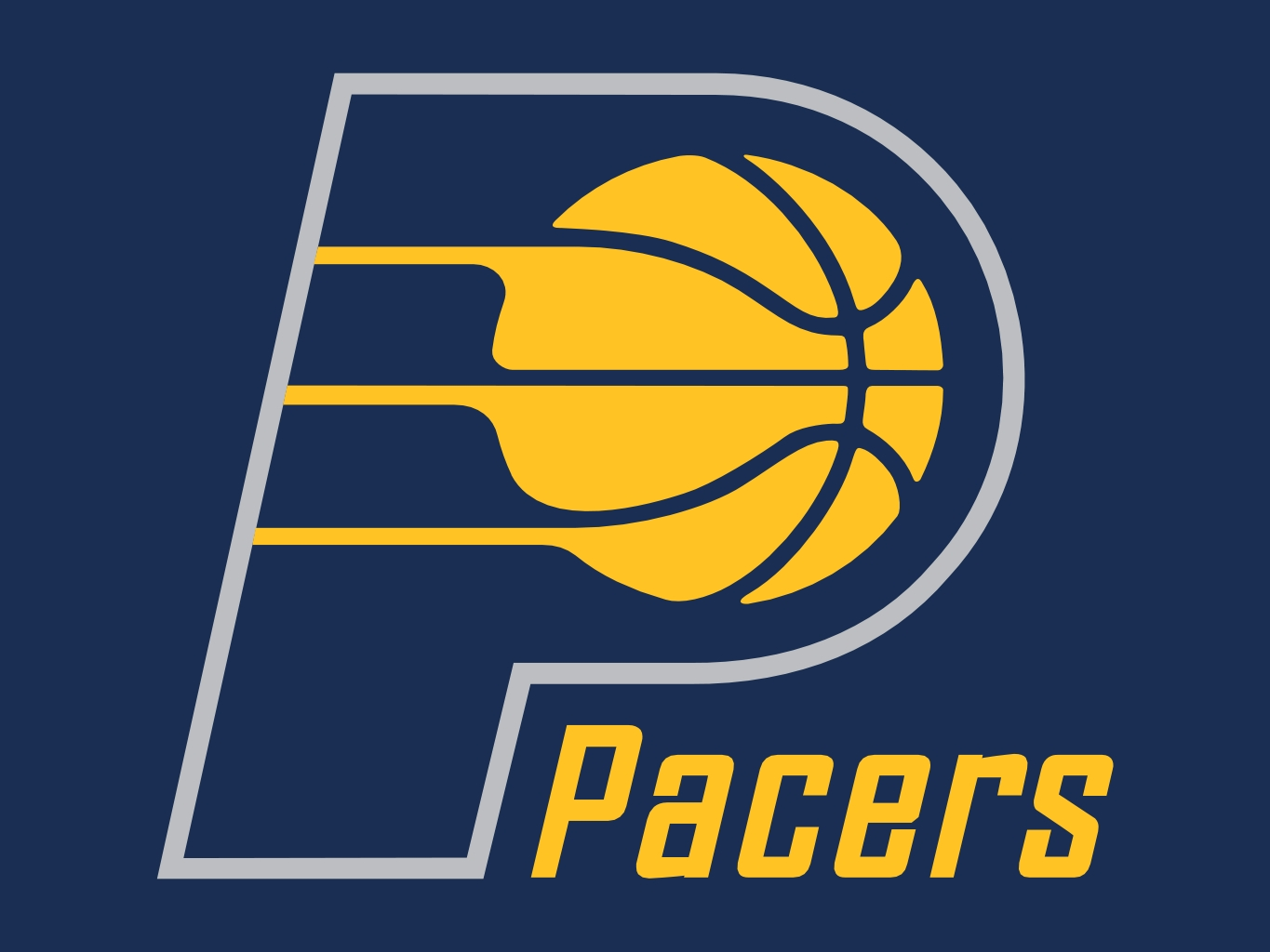 History Of All Logos All Indiana Pacers Logos