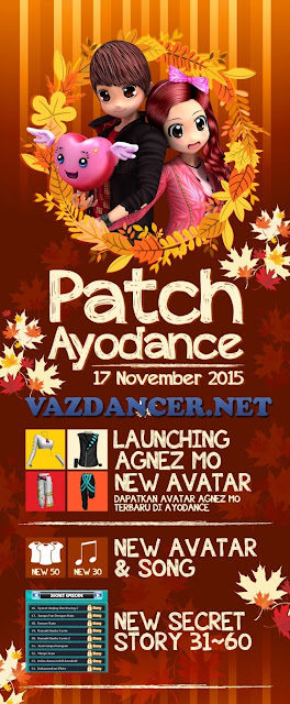 Patch Info AyoDance V6129 17 November 2015