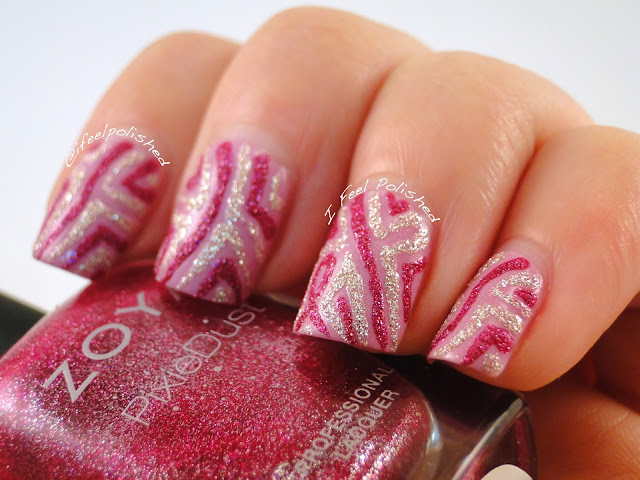 Breast Cancer Awareness Nails