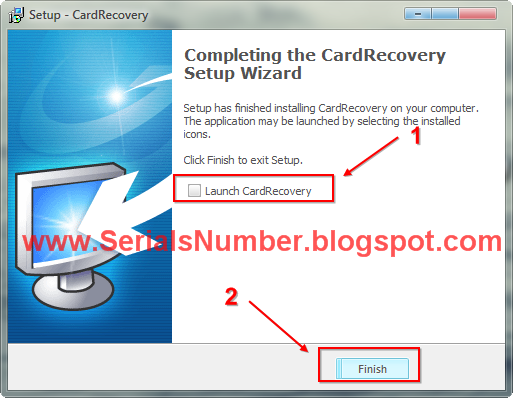 cardrecovery 6.10 serial key number