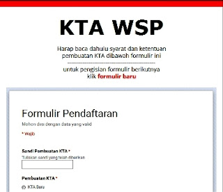 KTA WSP