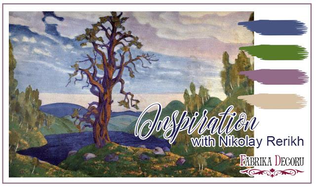 +++Задание мая. Inspiration with Nikolay Roerich до 31/05
