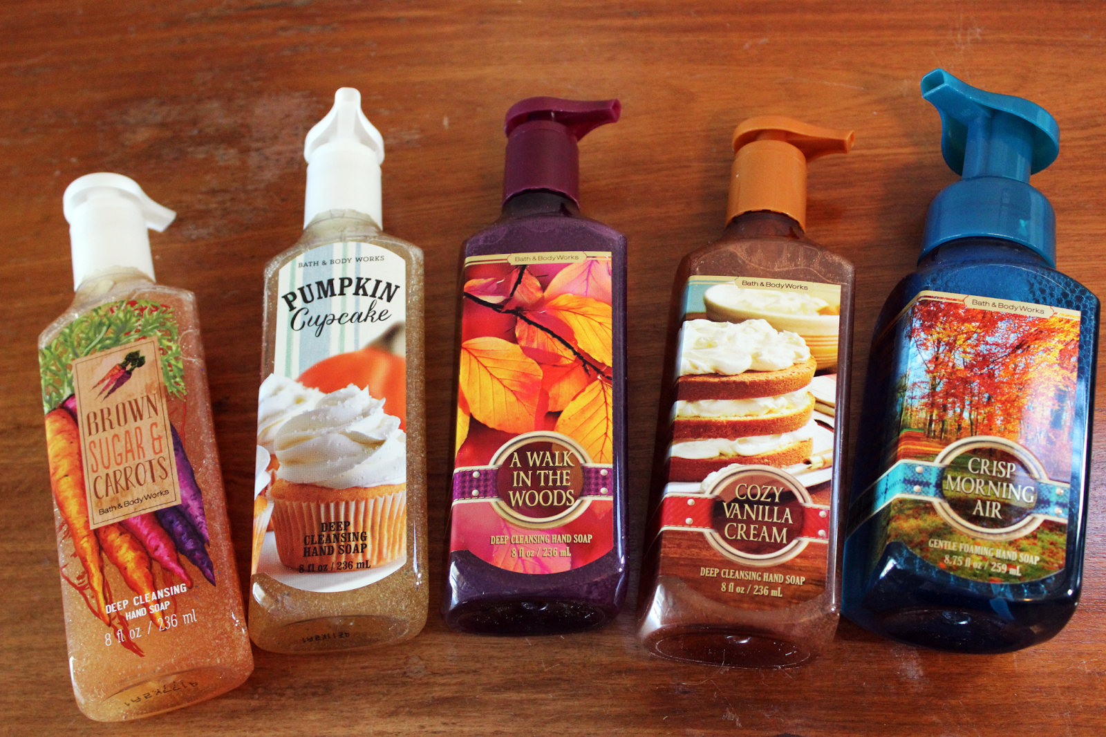 Glazed over beauty fall bath body works haul for Fall soap scents
