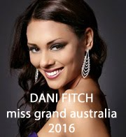 DANI FITCH - MISS GRAND AUSTRALIA 2016