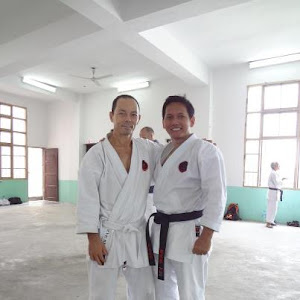 bersama sensei LUIS NUNES, 7th DAN, IOGKF Spain Chief Instructor