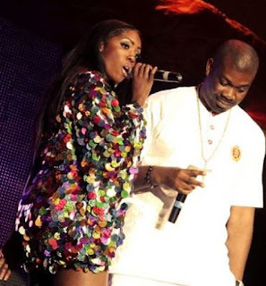 Tiwa Savage and Don Jazzy