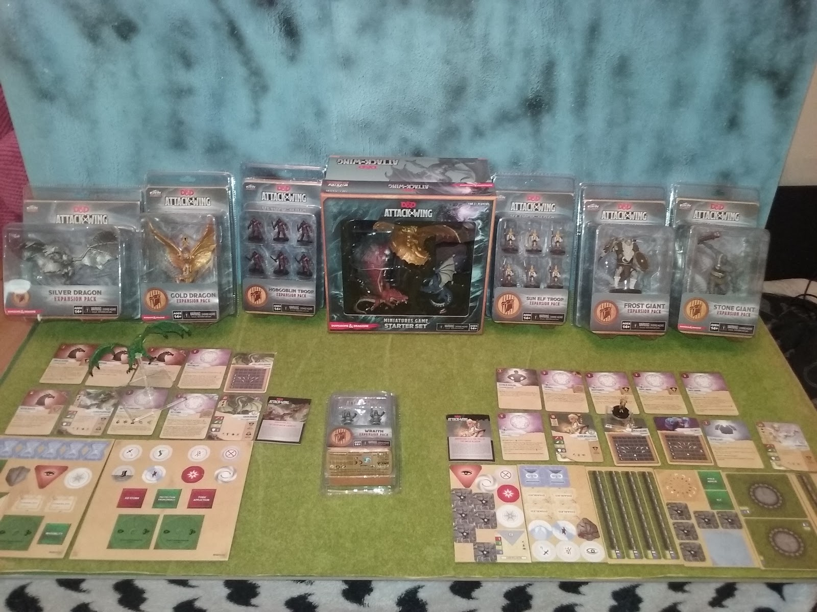 The Garage Gamers: Dungeons and Dragons D&D Attack Wing Mega Bundle ...