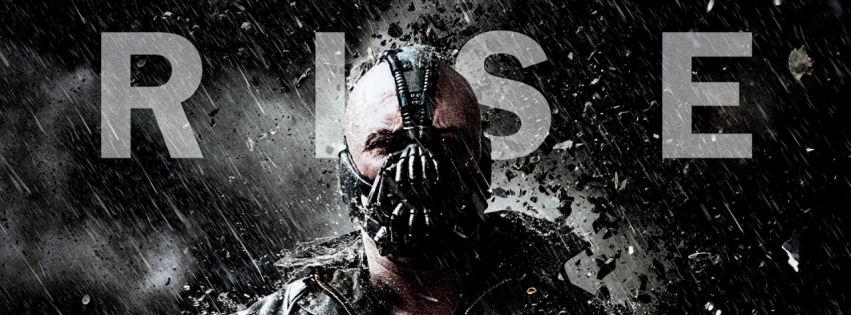 Bane dark night rises facebook cover
