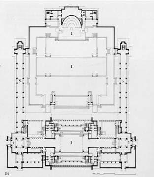 Frank lloyd wright midway gardens chicago illinois for Frank lloyd wright piani casa della prateria