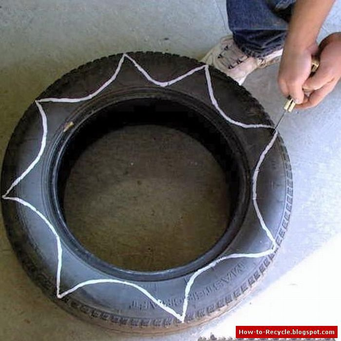 How To Recycle Old Tires As A Flower Pots