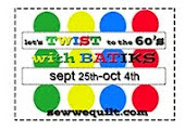 Let's Twist to the 60's bloghop