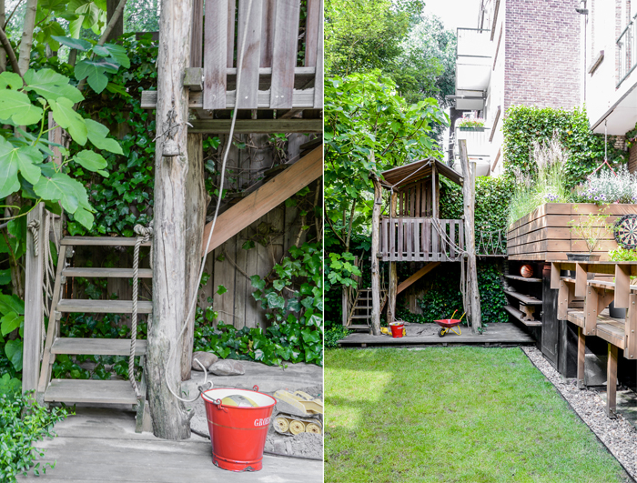 garden in city of Rotterdam / photo Binti-Home