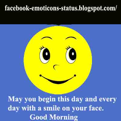 Facebook Emoticons Status: Facebook Good Morning Status And Quotes