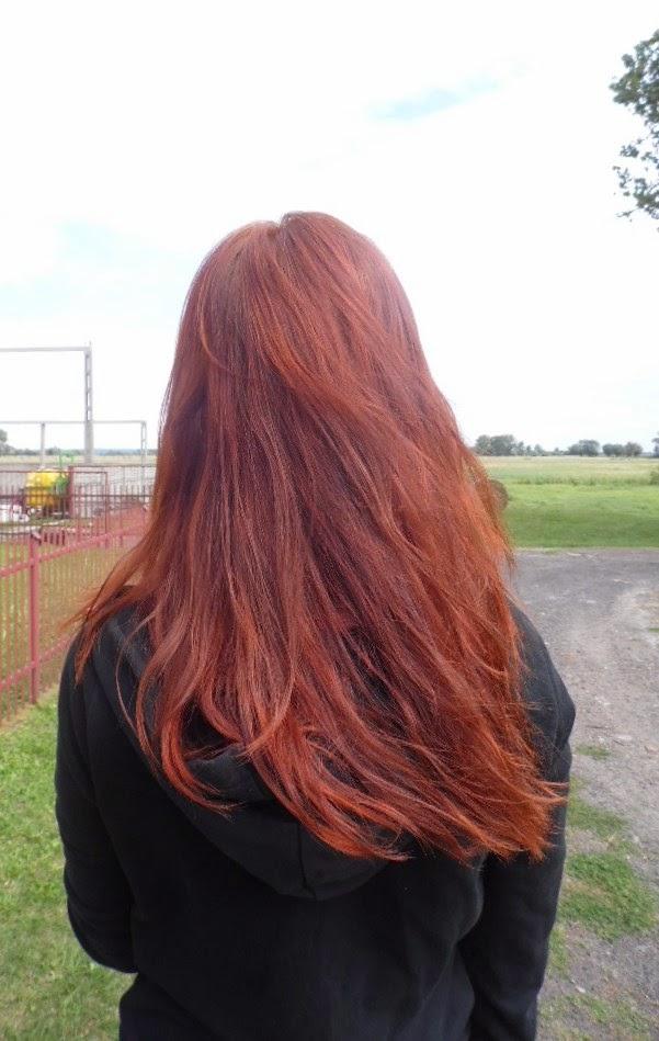 Jak wyglądają moje włosy świeżo po hennie Khadi Red + jak ja ją stosuję