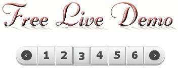blogger page navigation widget demo