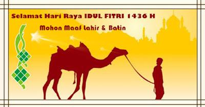 Koleksi Ucapan Selamat Hari Raya Idul Fitri 2015
