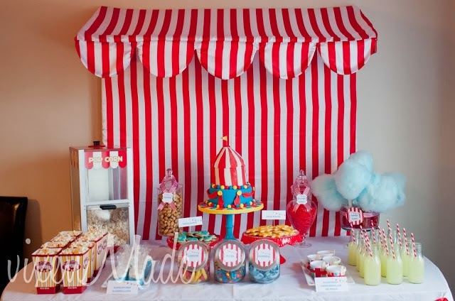 free printable circus party