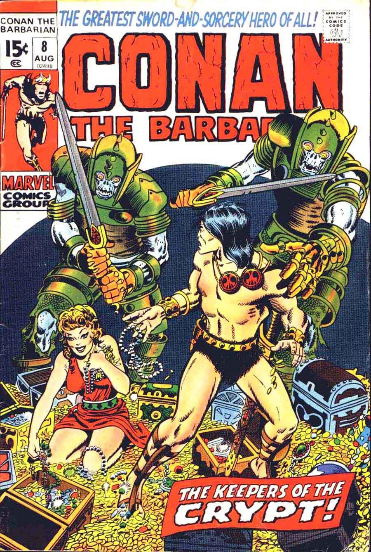 Comic Book Cover Art ~ Conan the barbarian barry windsor smith art cover