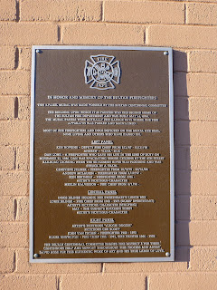 Sultan Firefighters Mural - Information