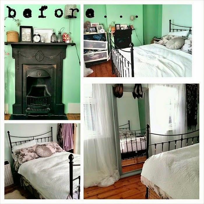 Antes y despu s estilo n rdico para el dormitorio for Juego de dormitorio estilo nordico
