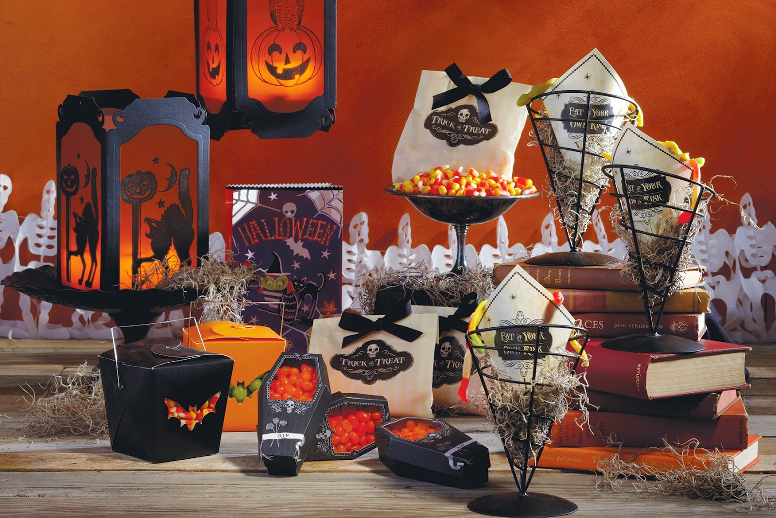 san francisoc stylist allegra hsiao styles halloween food table