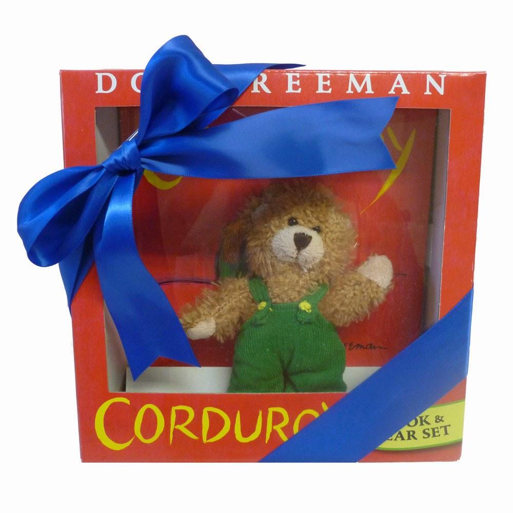 Corduroy Bear Gift Set for Baby