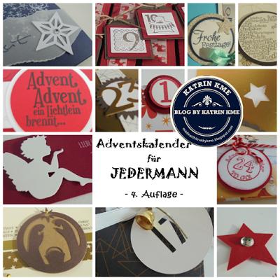 Adventskalender 2016 für JEDERMANN