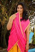 kruthika jayakumar half saree stills-thumbnail-19