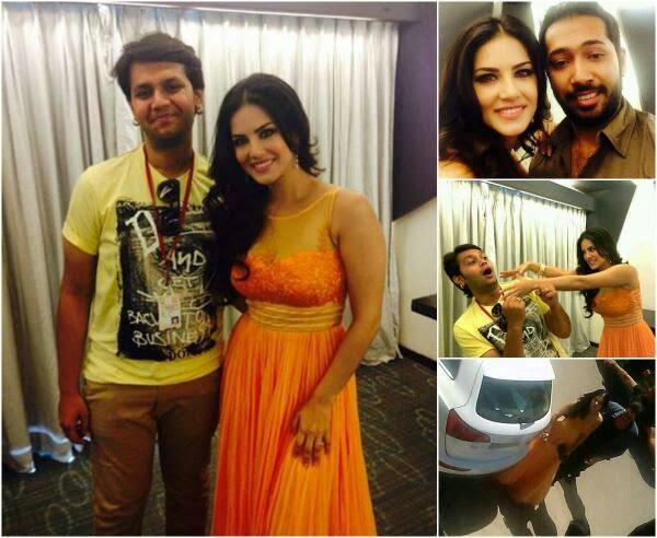 Sunny Leone promoting Ragini MMS 2
