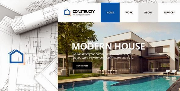 Best Construction Business Building Theme