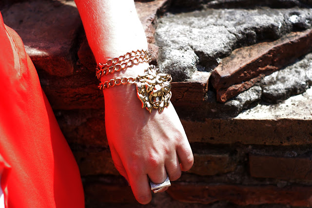 Rome, Italy, cubus, lion, blogger, chicnova, vest, zara, eagle necklace, bijou brigitte, gold, adler kette, miu miu sunglasses,