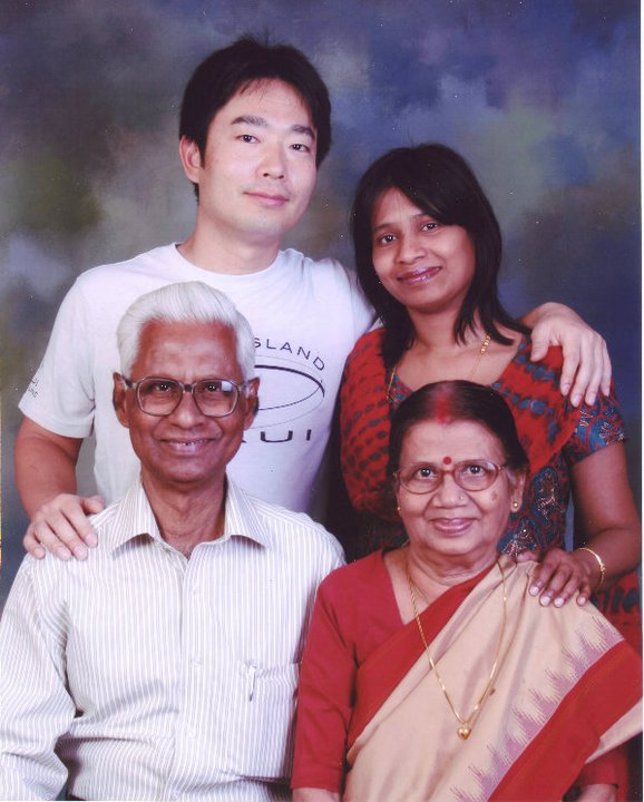 We with my parents (2011)