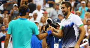 Marin Cilic beats Roger Federer