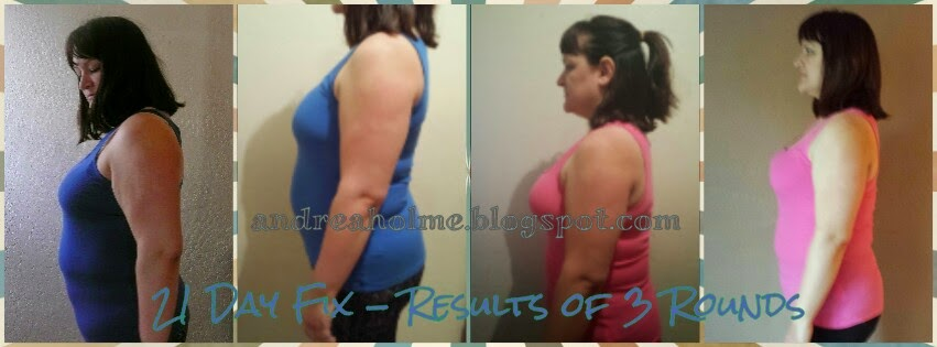 Real results from following the 21 Day Fix program