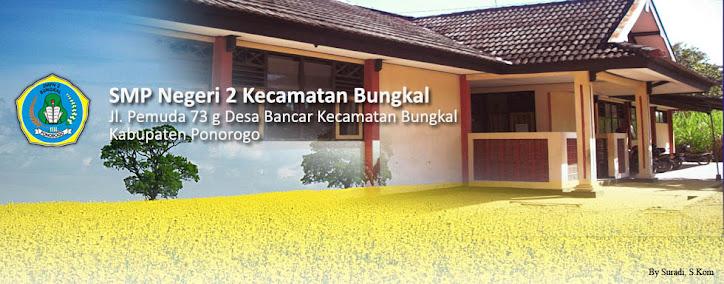 Website SMP Negeri 2 Bungkal Ponorogo