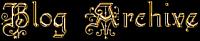 Blog archive logo