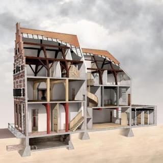 monument, 3d tekening, conserf, makelaardij, busker makelaardij, aankoopmakelaar, huizenmarkt, amsterdam, leiden