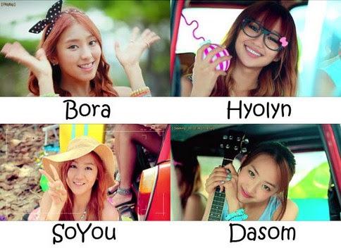 Group Girl Korean Most of Korean Singer Group