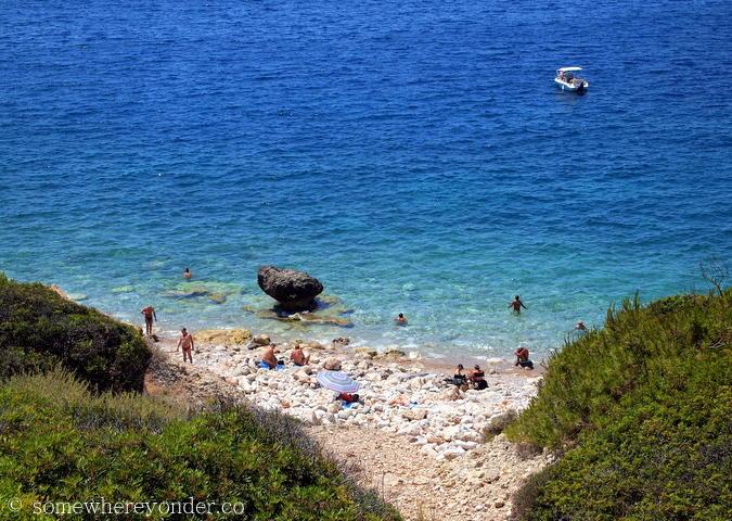 Naked swimming spot - Mallorca, Spain