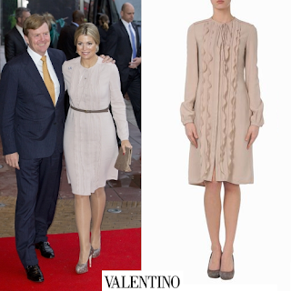 Queen Maxima wore style VALENTINO Dress