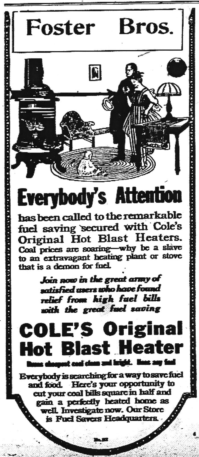 Foster Bros. 1918 Ad