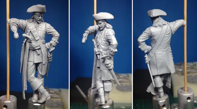 Capitán Pirata (Pegaso Models) por Rafa Coll