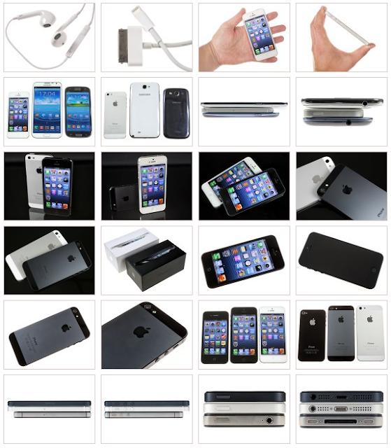 Desain Fisik Apple iPhone 5